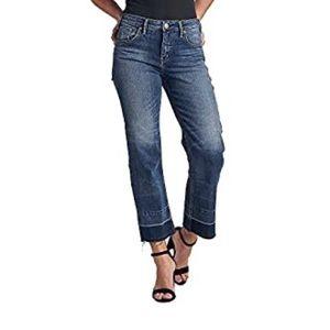 Silver Jeans Co Izzy Wide Leg Crop